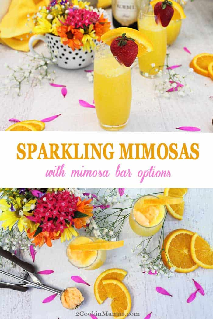Celebrate Spring with Sparkling Mimosas