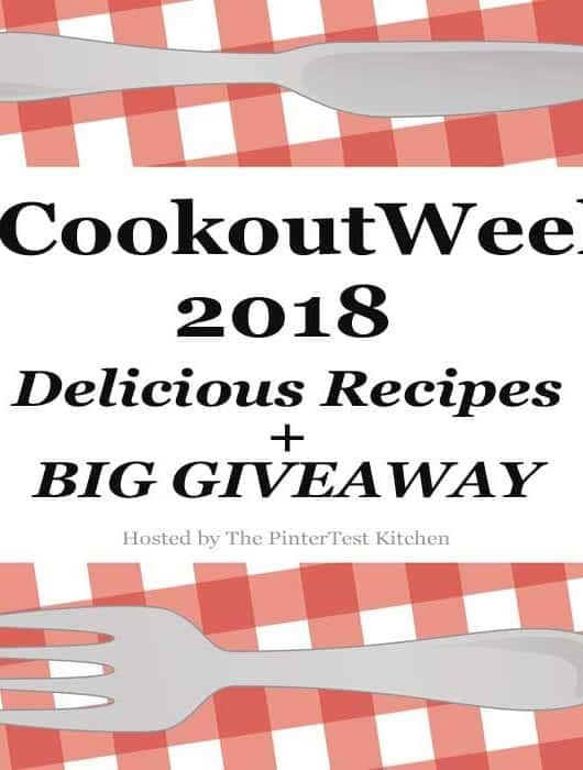 #CookoutWeek 2018 square