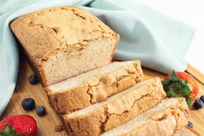 Grilled Cinnamon Sugar Sour Cream Pound Cake 2 Cookin Mamas