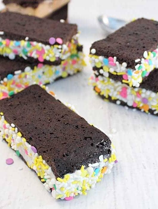 Homemade Ice Cream Sandwiches square