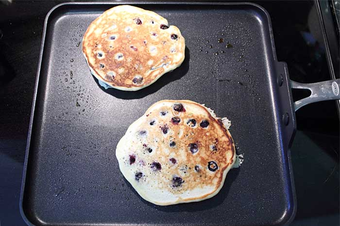 Lemon Blueberry Pancakes Step 6