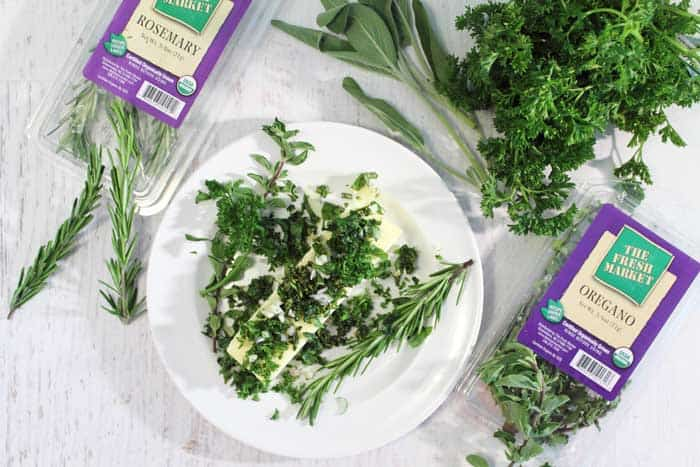 Herb Butter with Fresh Market Herbs