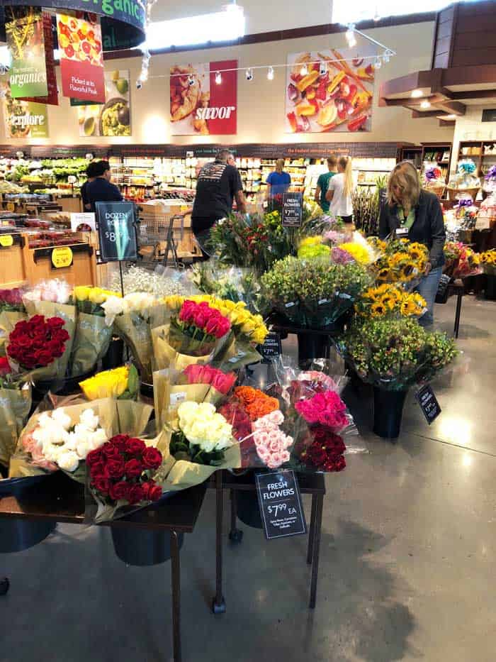The Fresh Market floral section
