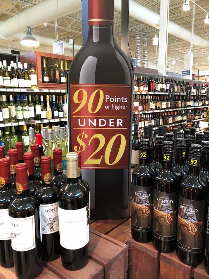 The Fresh Market wine display