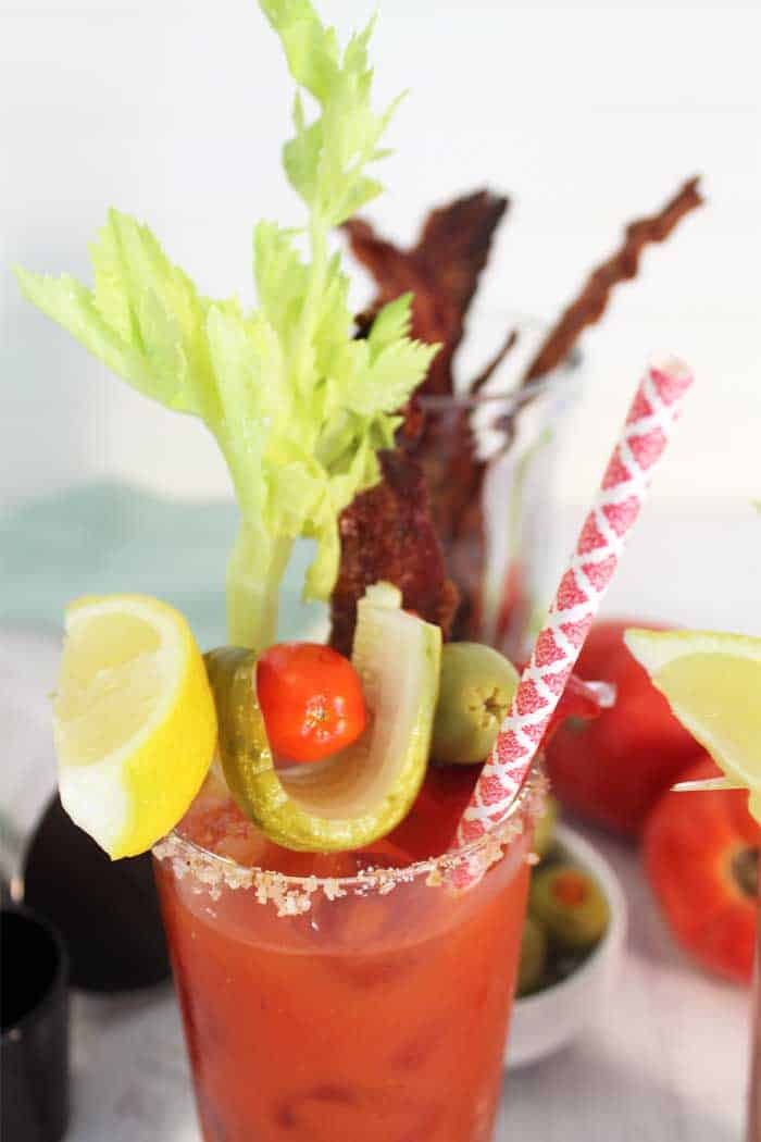 Bloody Maria with Bourbon Candied Bacon single tall 1