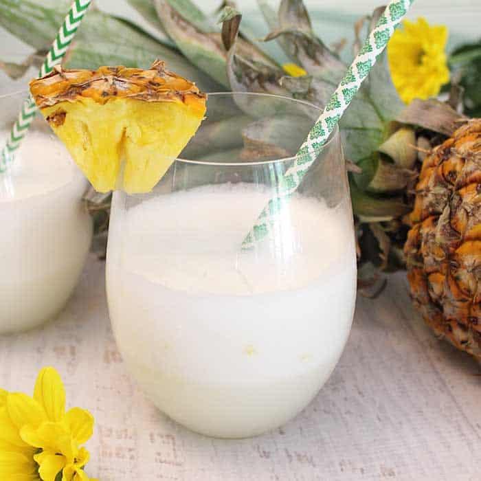 Malibu Pineapple Sgroppino single