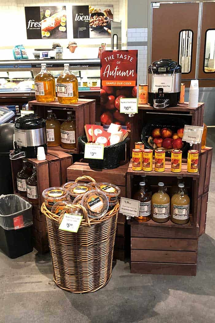 The Fresh Market Autumn Display
