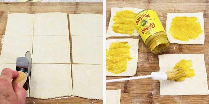 Cheesy Apple Bacon Bundles prep 1
