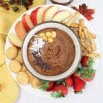 Healthy Chocolate Yogurt Hummus square