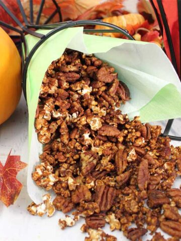 Pumpkin Caramel Popcorn square 1