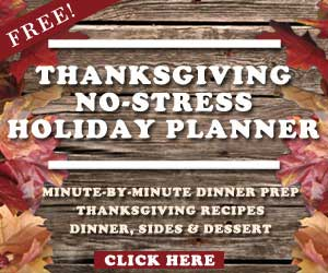 Thanksgiving No Stress Holiday Planner