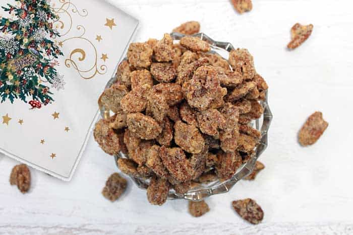 Candied Pecans overhead