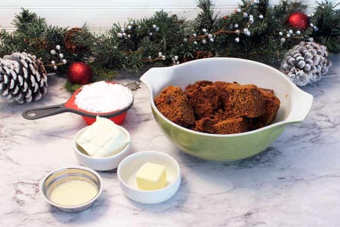 Gingerbread Truffles ingredients
