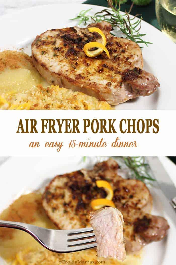 Easy Air Fryer Pork Chops