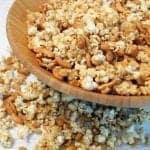 Caramel Cashew Popcorn square 1