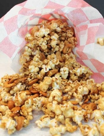 Caramel Cashew Popcorn square 2