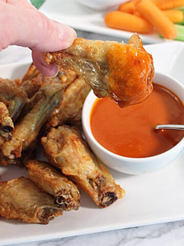 Crispy Air Fryer Wings square