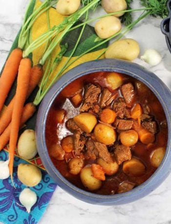 Instant Pot Greek Beef Stew square