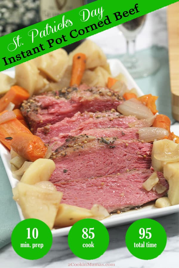 Easy Instant Pot Corned Beef with Beer