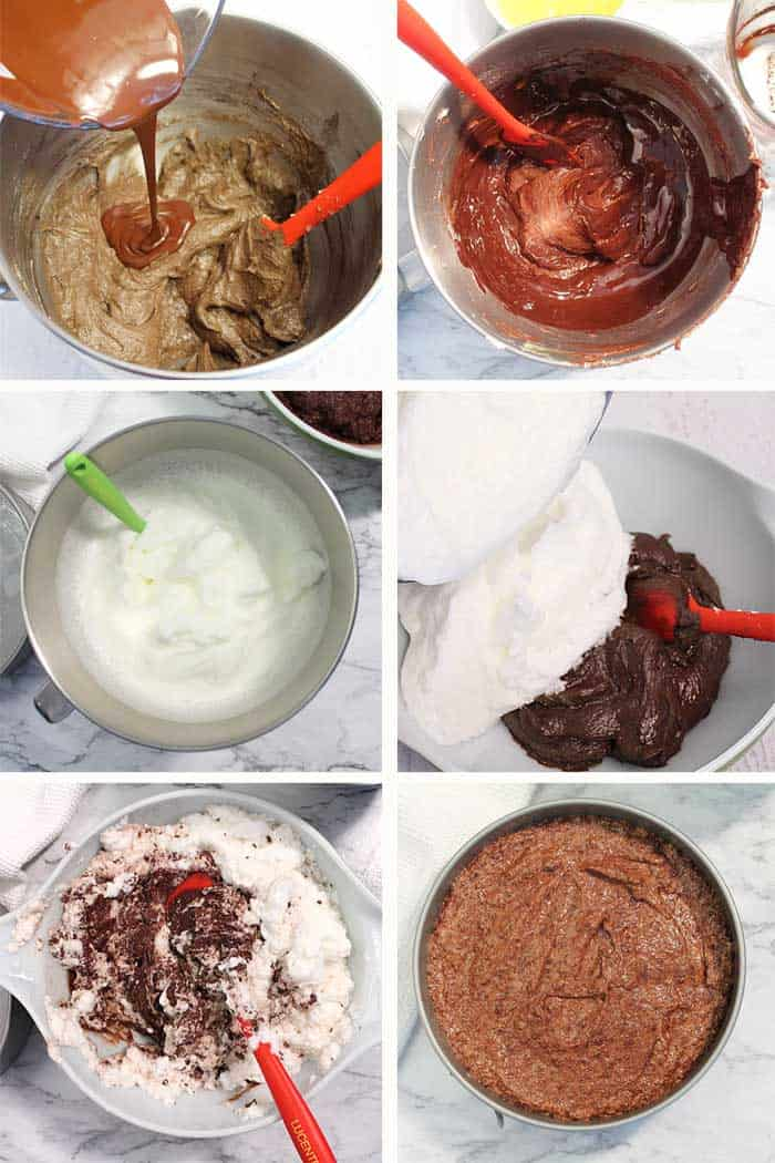 Flourless Chocolate Torte Steps 5-10