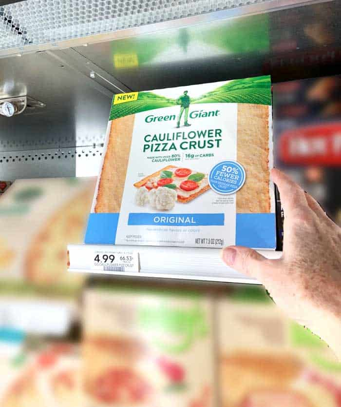 Green Giant Cauliflower Pizza Crust in Publix