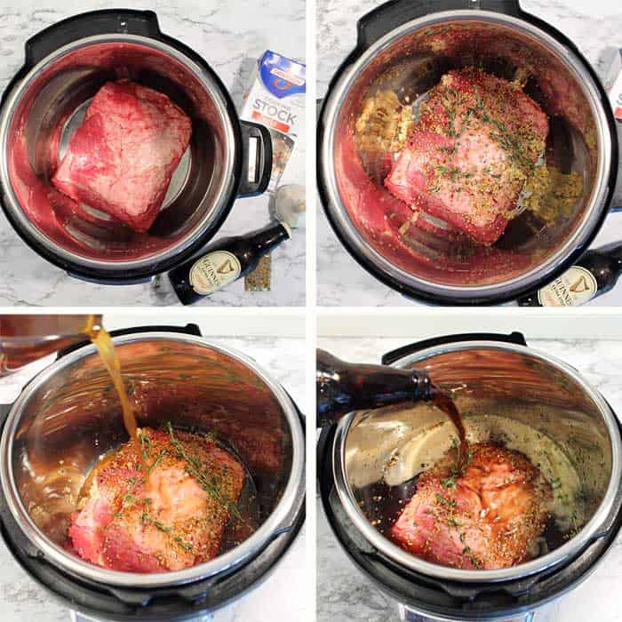 Instant Pot Corned Beef Prep 1-4