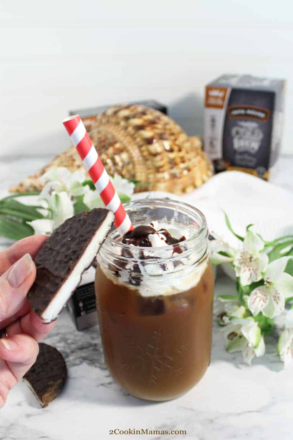 Peppermint Patty Cold Brew Iced Coffee tall
