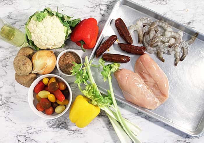 Creole Mixed Grill ingredients