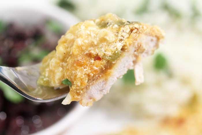 Chicken Fiesta bite