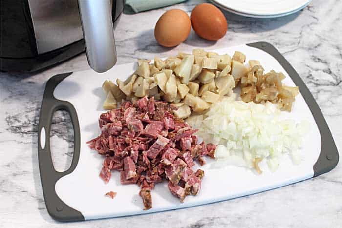 Corned Beef Hash ingredients