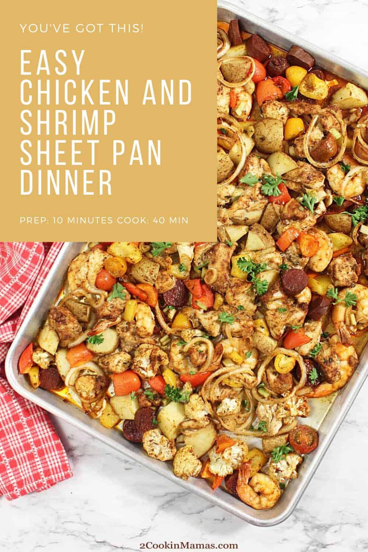 Creole Mixed Grill Sheet Pan Dinner