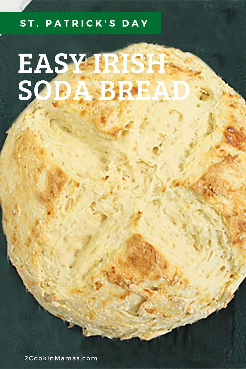 5 Ingredient Irish Soda Bread