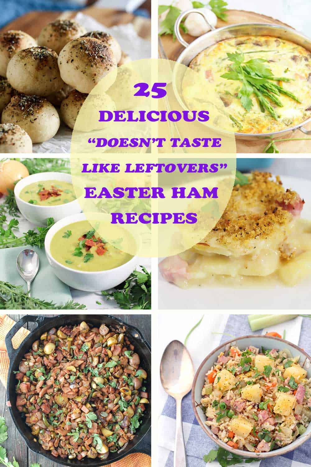 "Easter Ham ""Doesn't Taste Like Leftovers"" Recipes 
