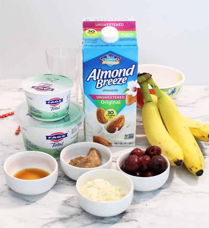 Cherry Vanilla Smoothie Swirl ingredients