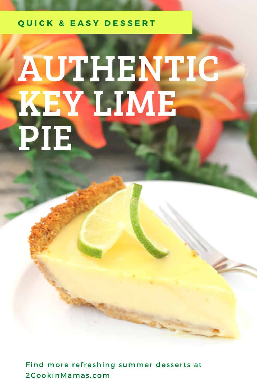 Authentic Key Lime Pie