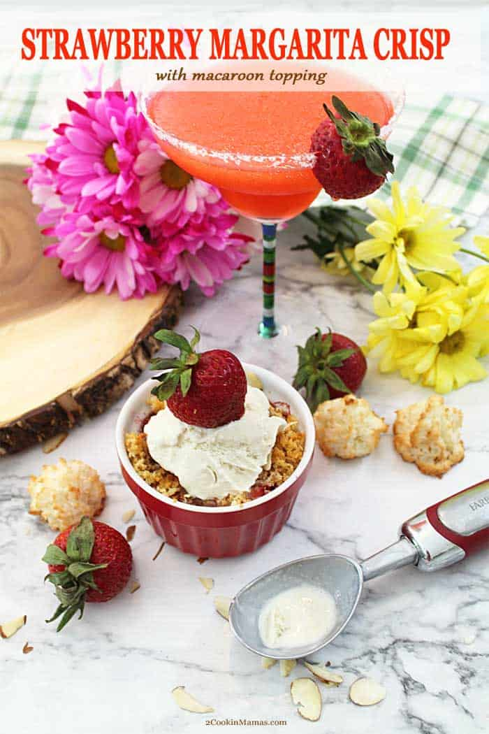 Strawberry Margarita Crisp