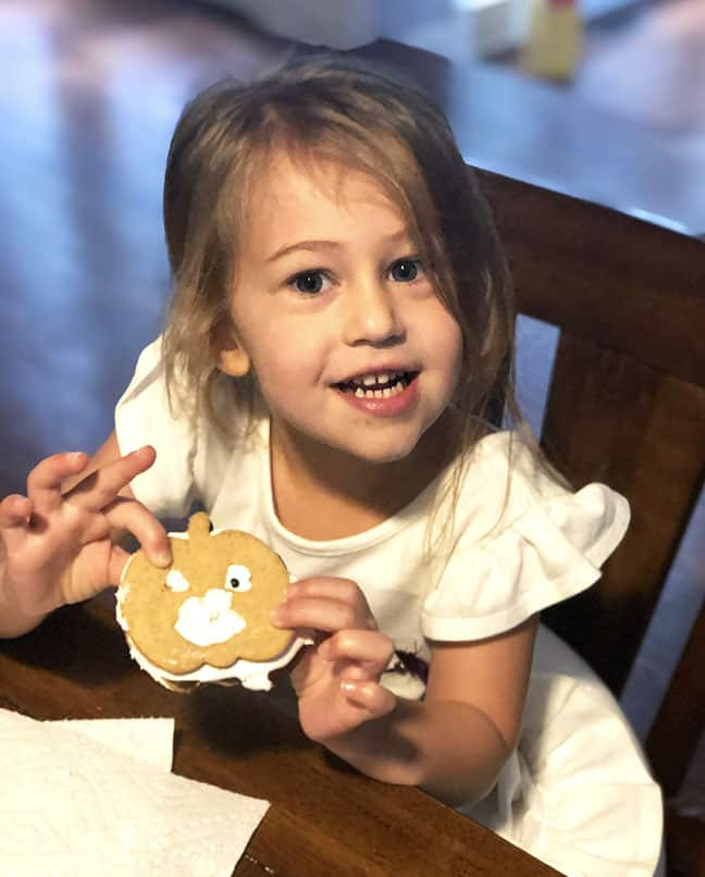 My little granddaughter couldn't get enough of these cookies!