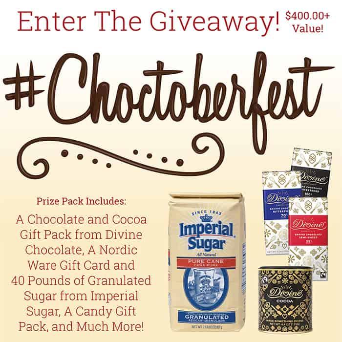 Choctoberfest Giveaway prize list
