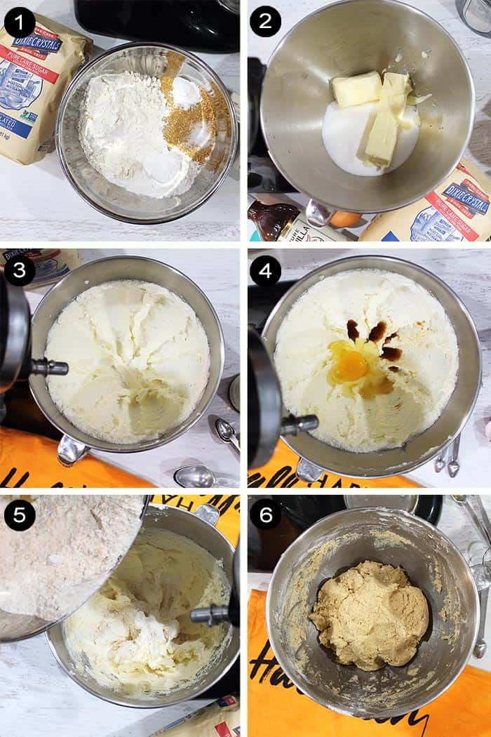 Prep steps for pumpkin smores.