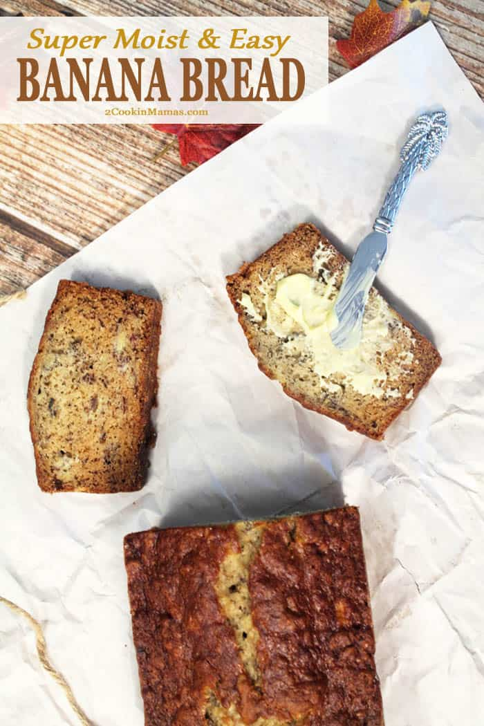 Easy Classic Banana Bread