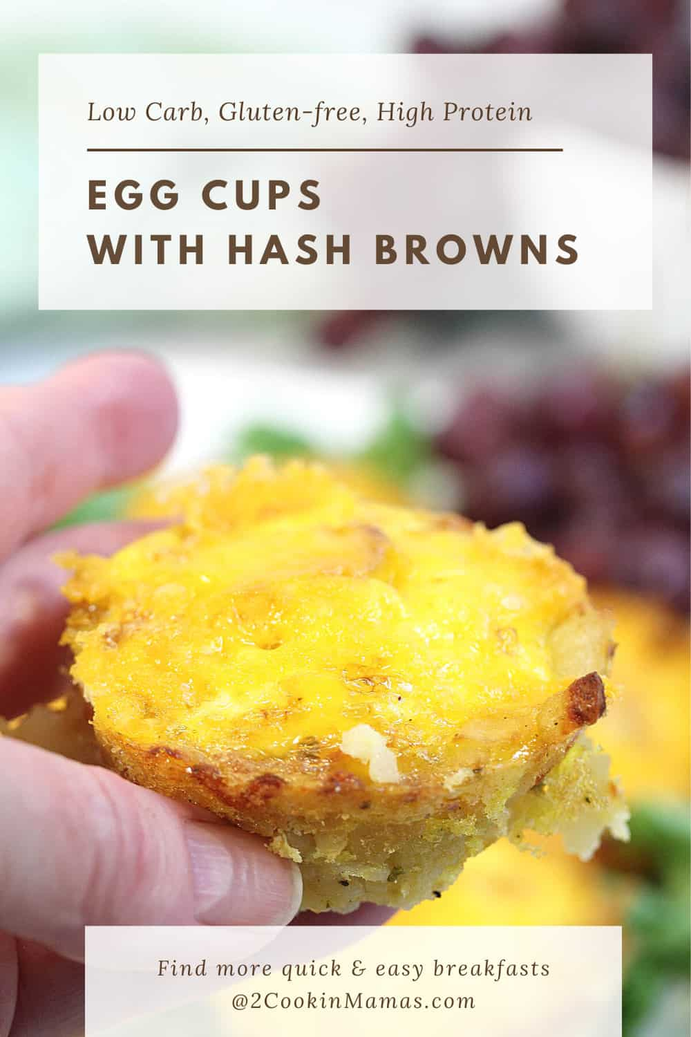 Egg Cups with Hash Browns