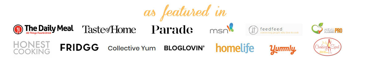 A list of as featured in for 2CookinMamas.