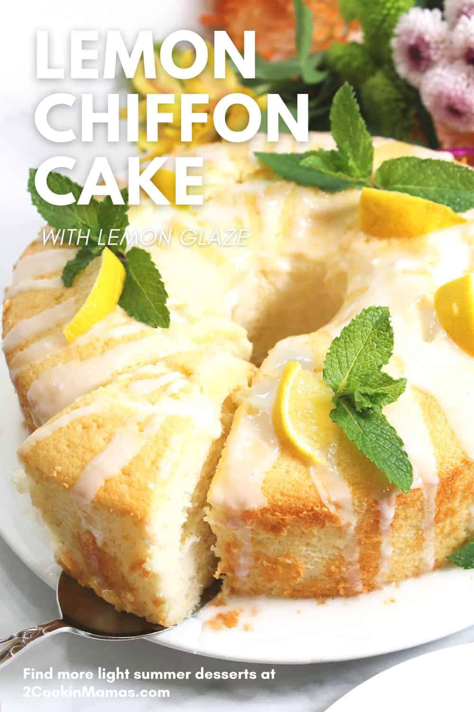Best Lemon Chiffon Cake Recipe